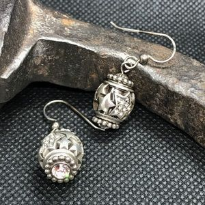 Brighton Earrings, changeable bead - worn once